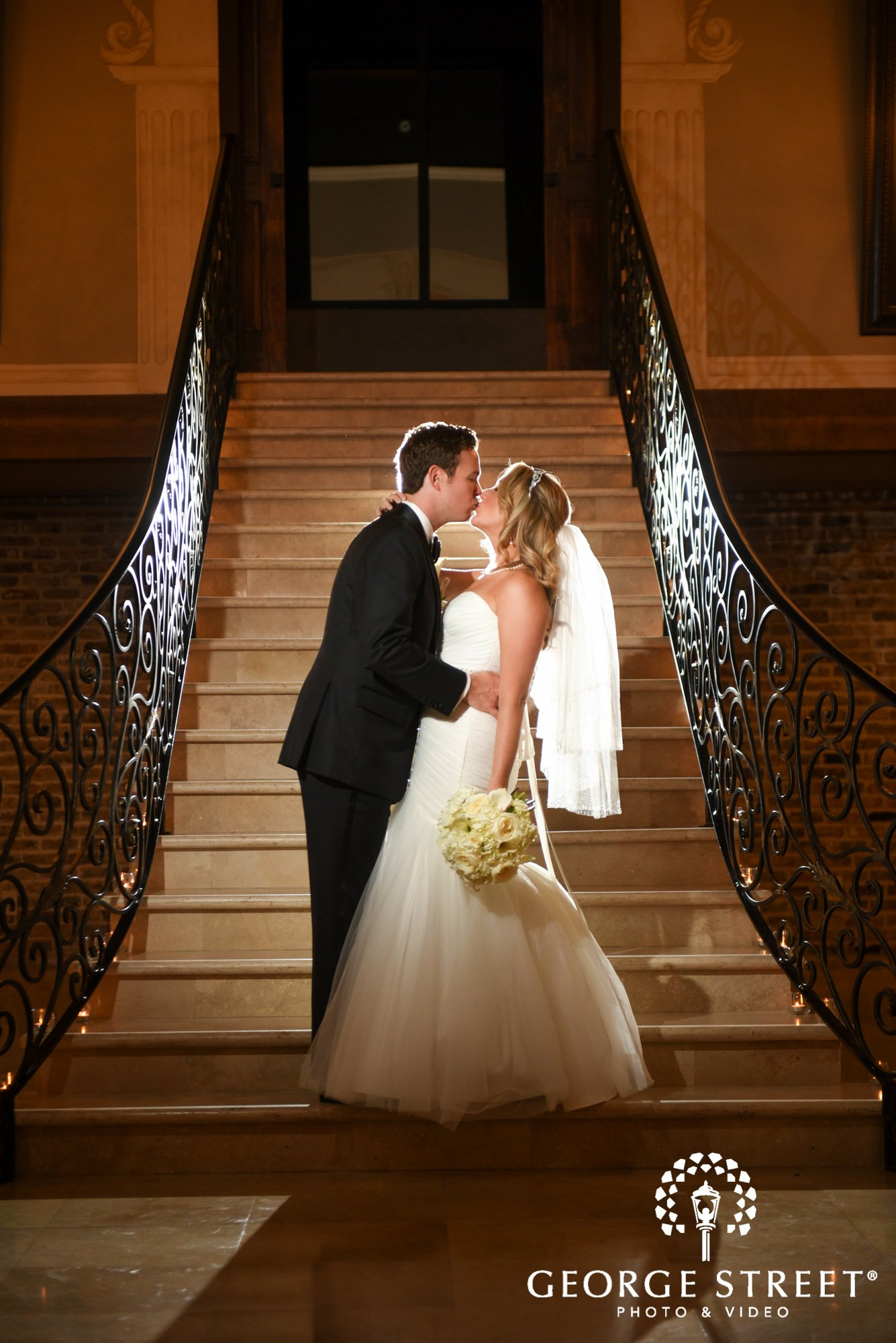 the bell tower on 34th bride and groom wedding photos 6