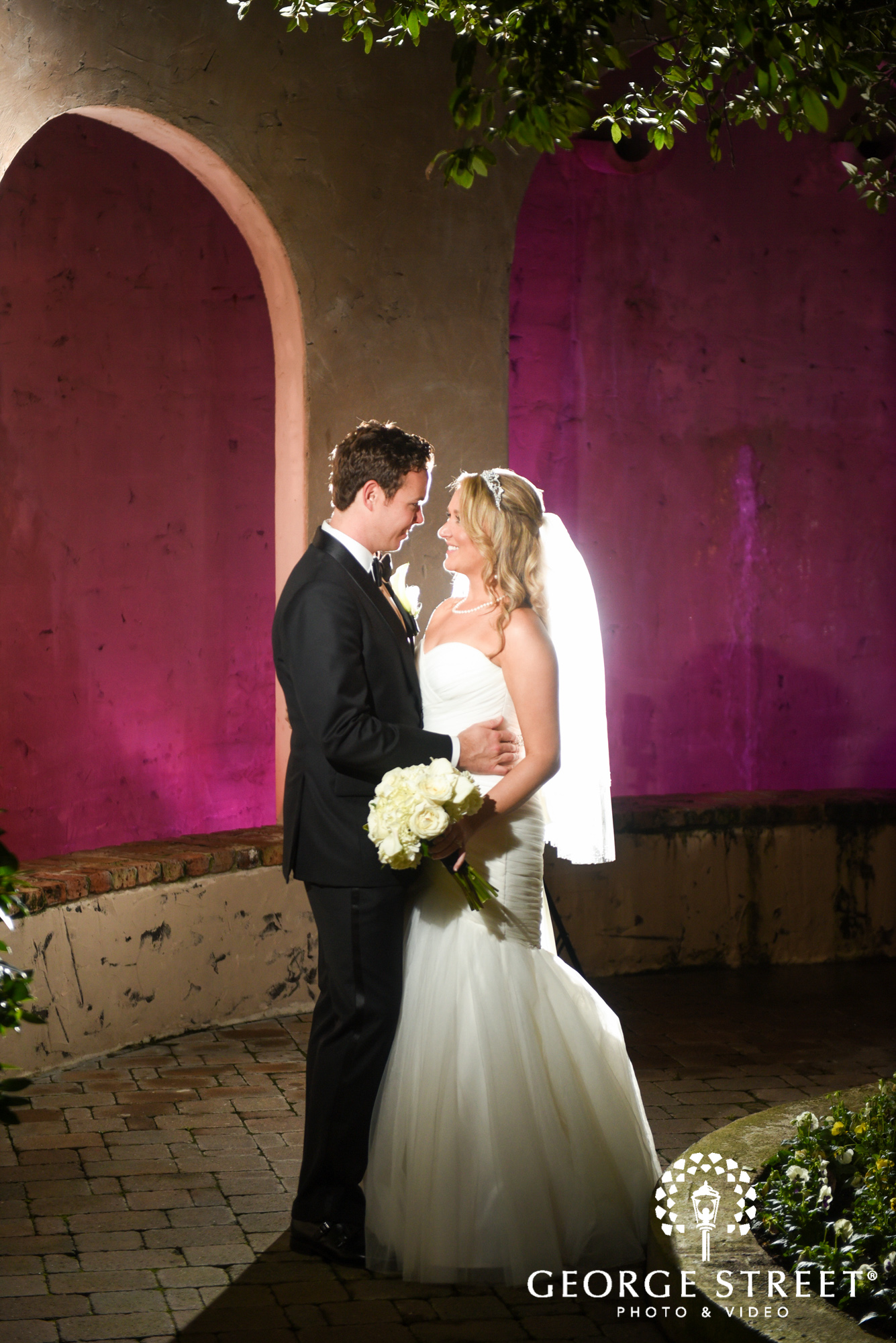 the bell tower on 34th bride and groom wedding photos 7