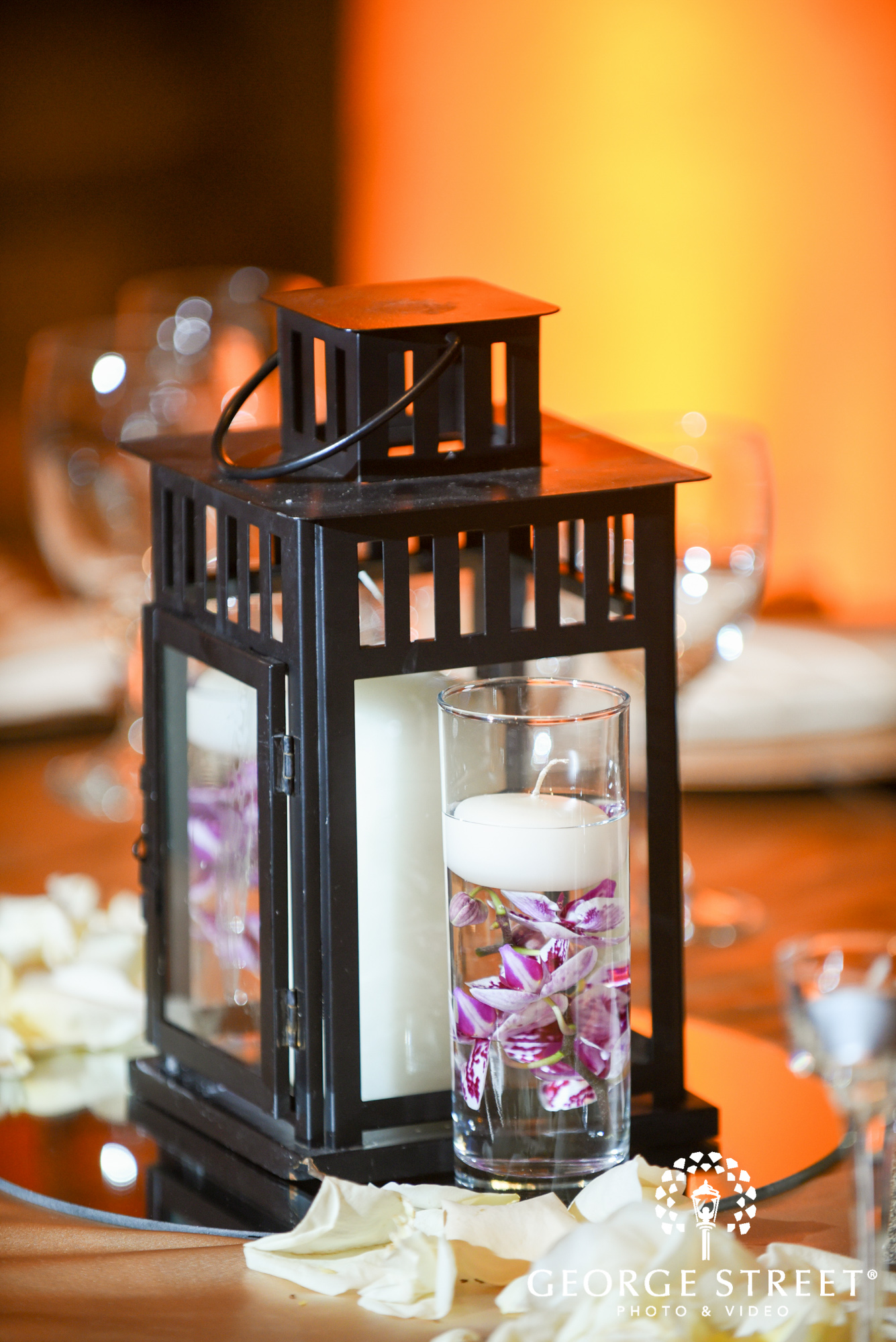 the bell tower on 34th wedding reception decor 5
