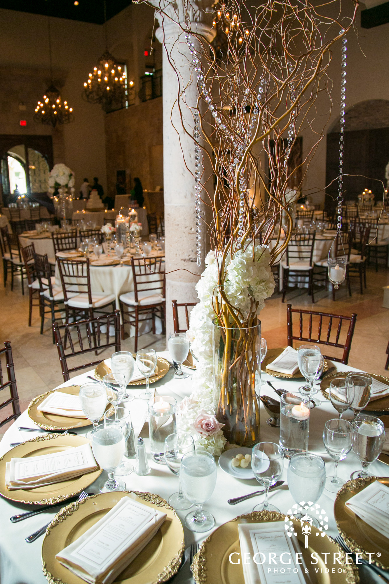the bell tower on 34th wedding reception decor