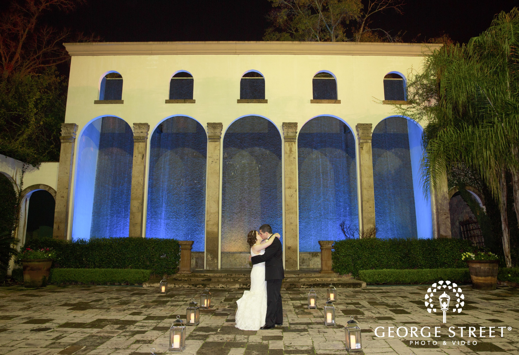 the bell tower on 34th kissing couple