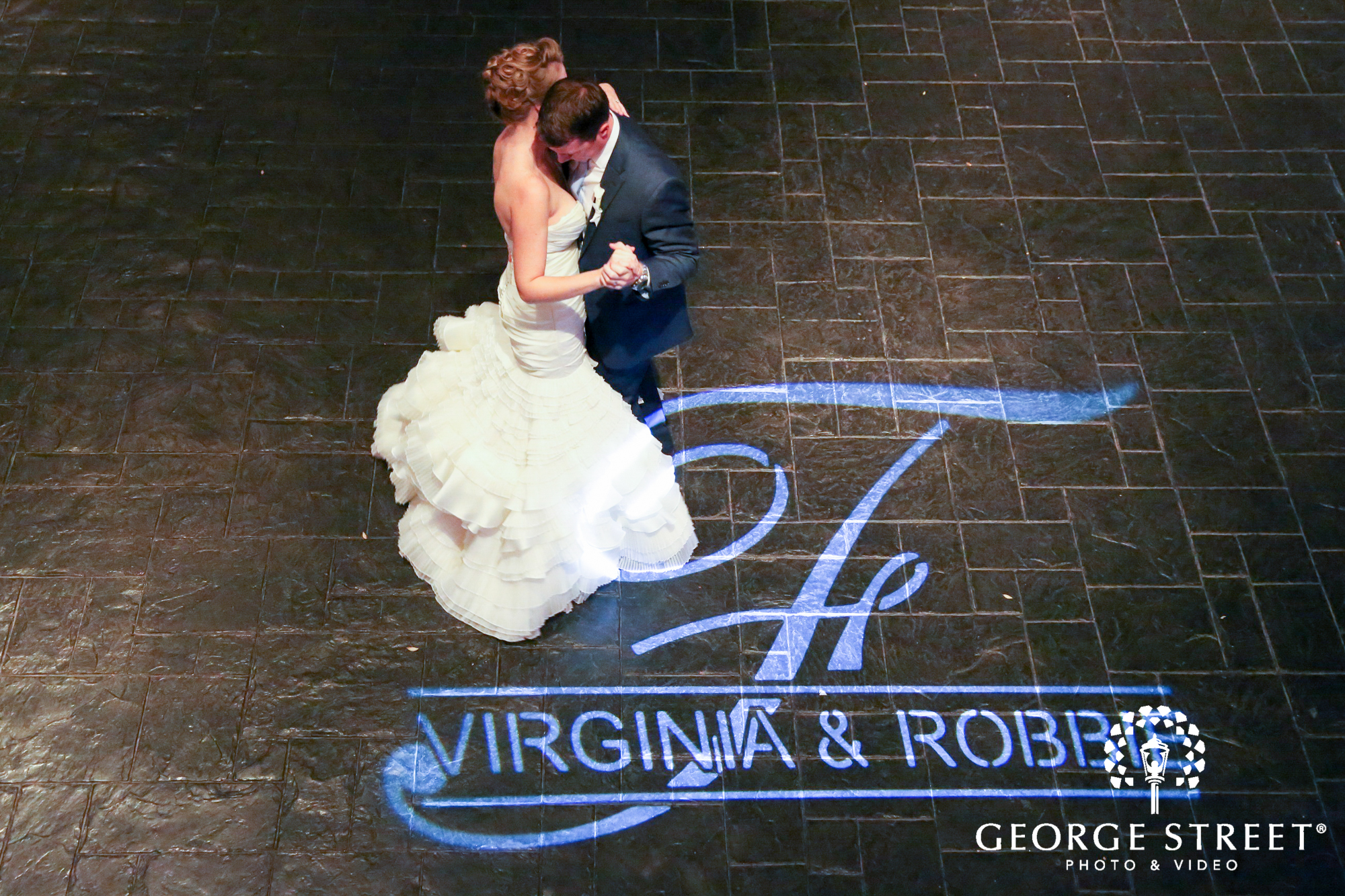 custom wedding lighting