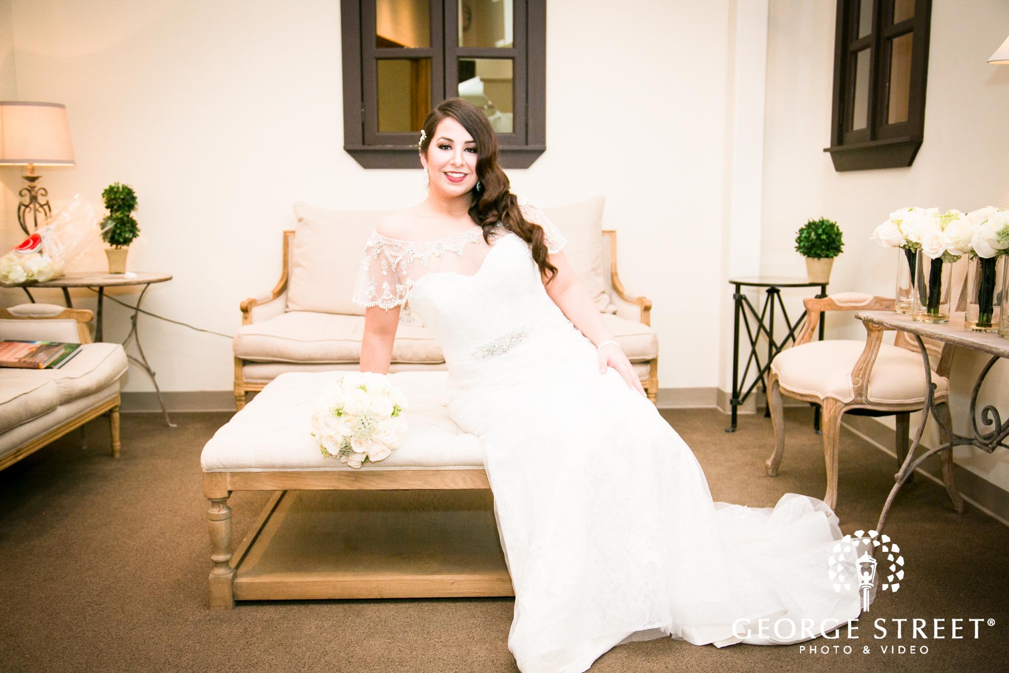 elegant formal bride
