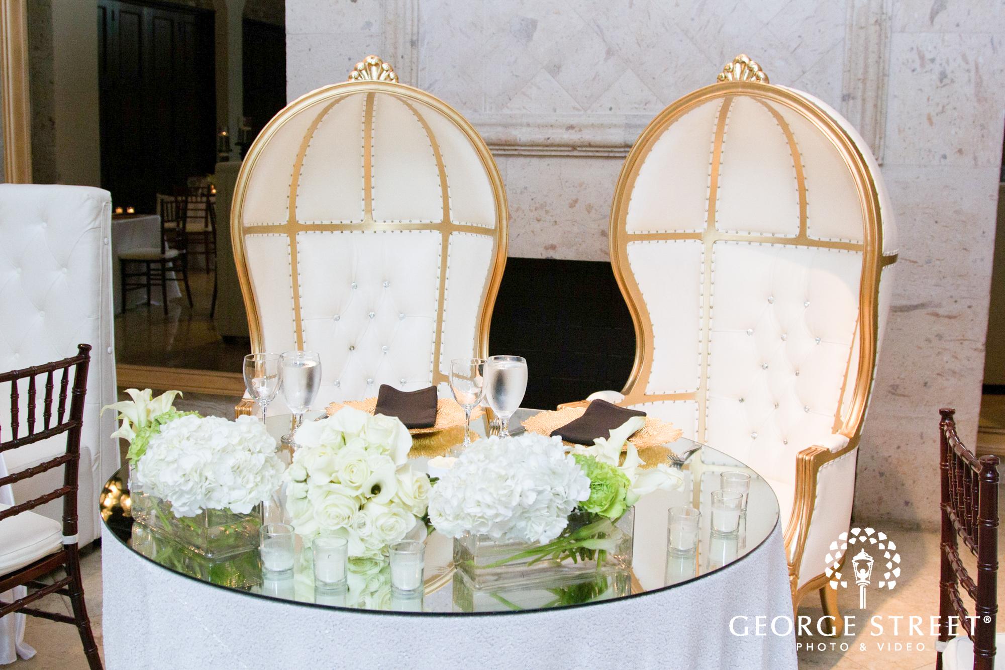 formal head table