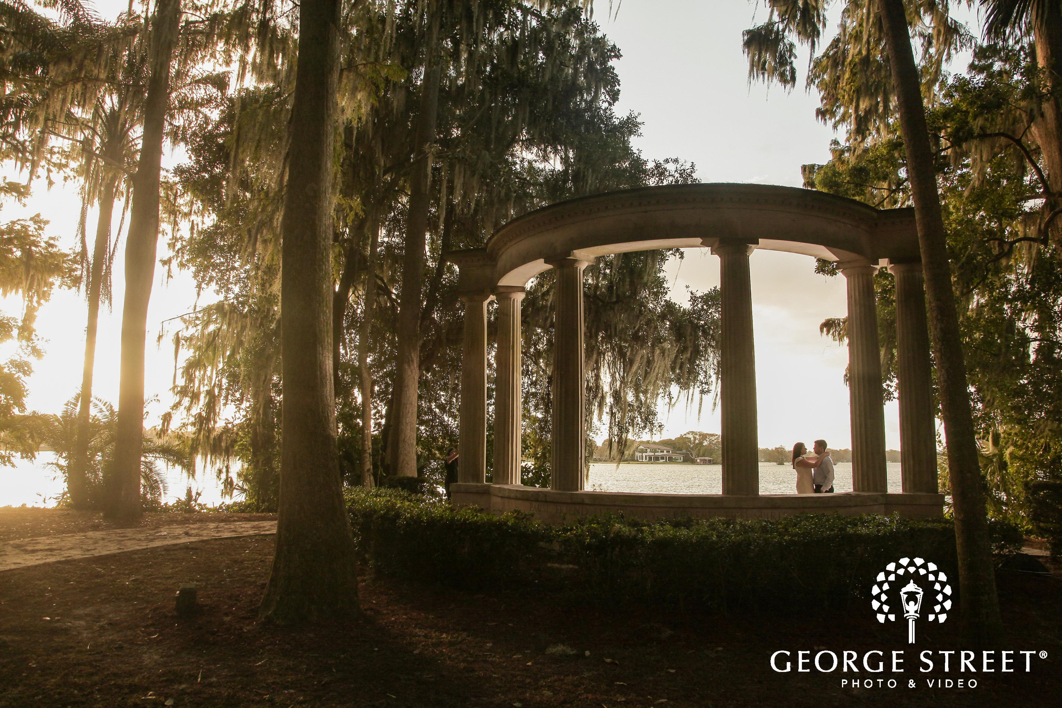 Kraft Azalea Gardens Engagement Photography George