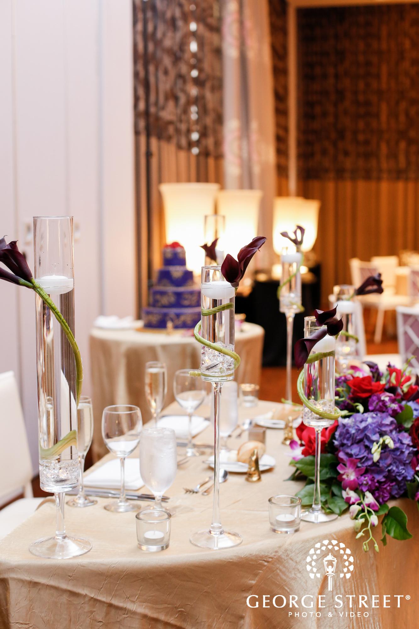 Hotel Monaco Philadelphia Wedding Reception Table Centerpiece Decor 4