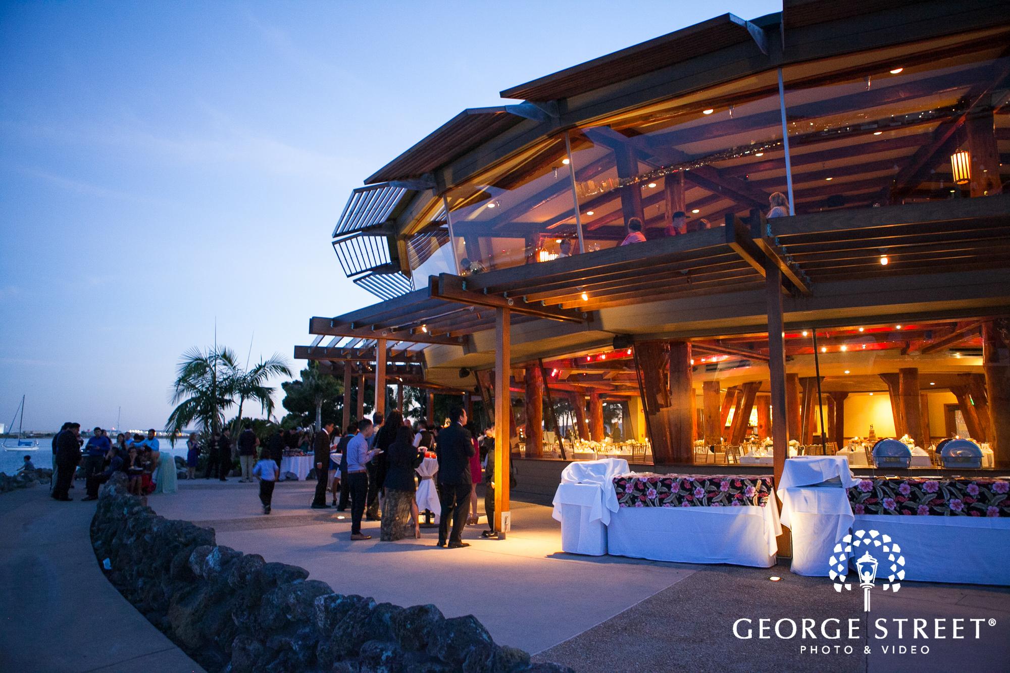 Bali Hai Restaurant Wedding Reception 2