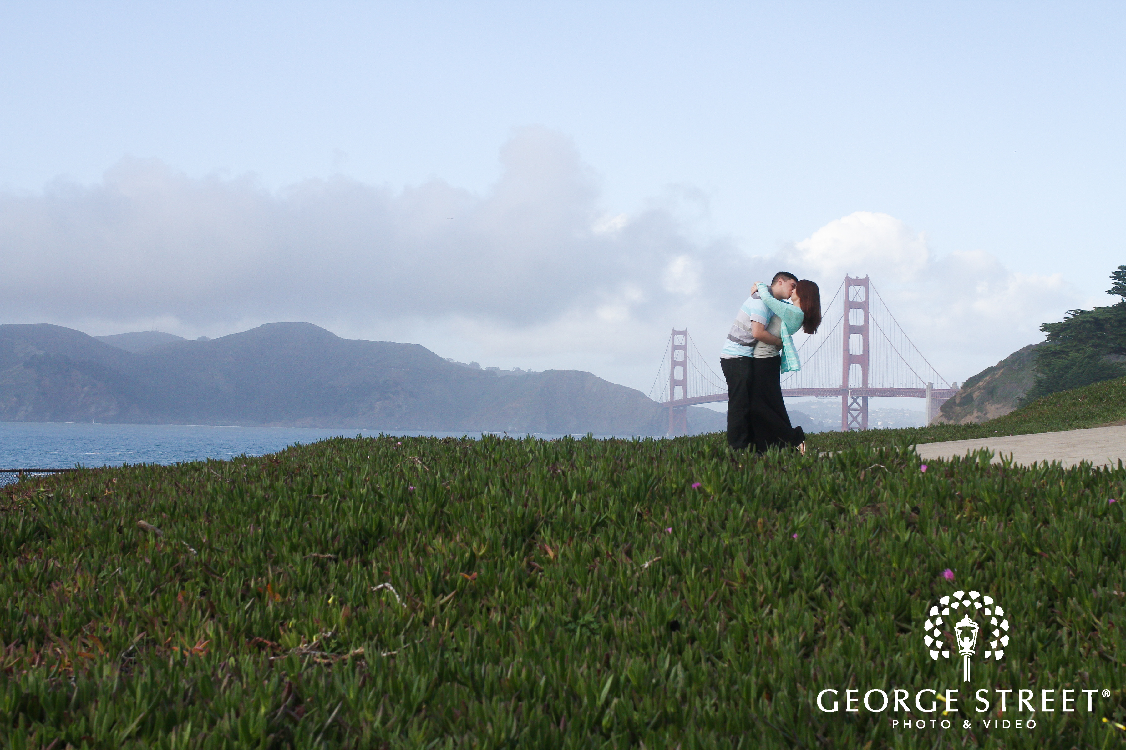 adorable engagement session location