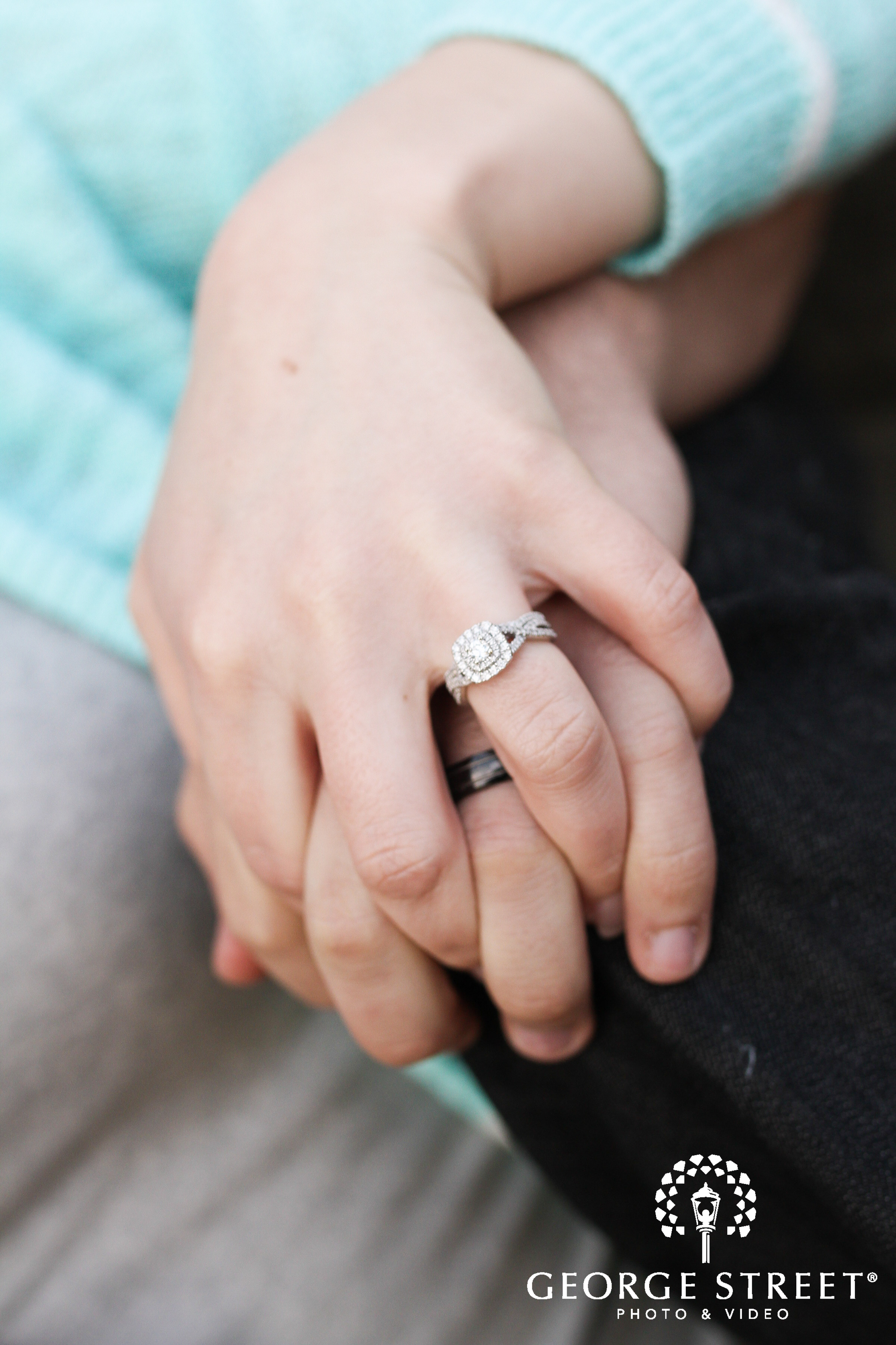 beautiful engagement ring photo
