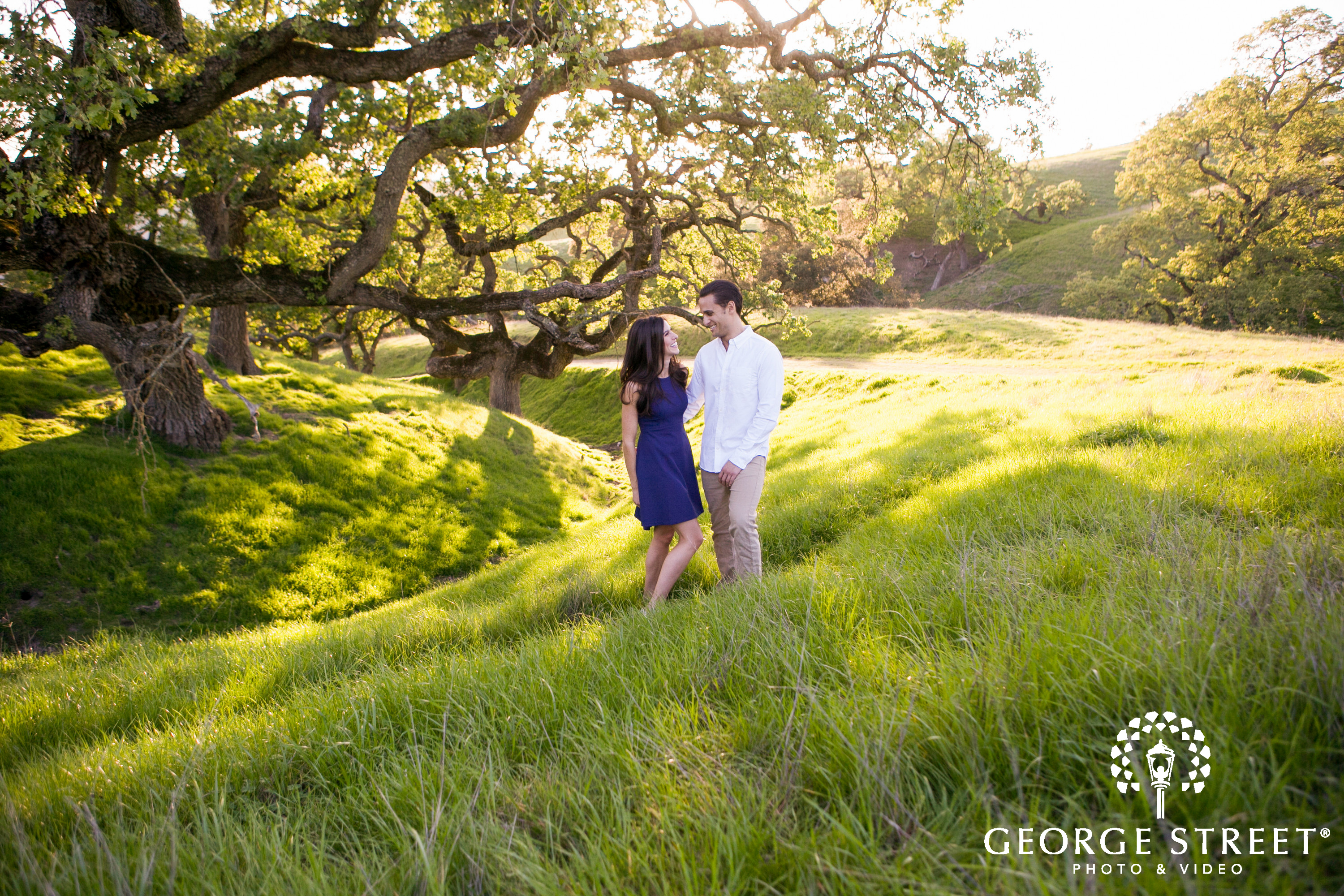 sycamore valley engagement photos
