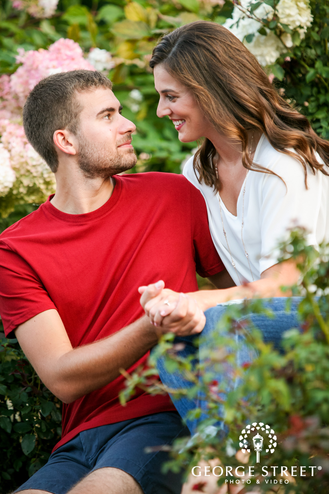 paradise hills vineyard  winery summer outdoor engagement session 12