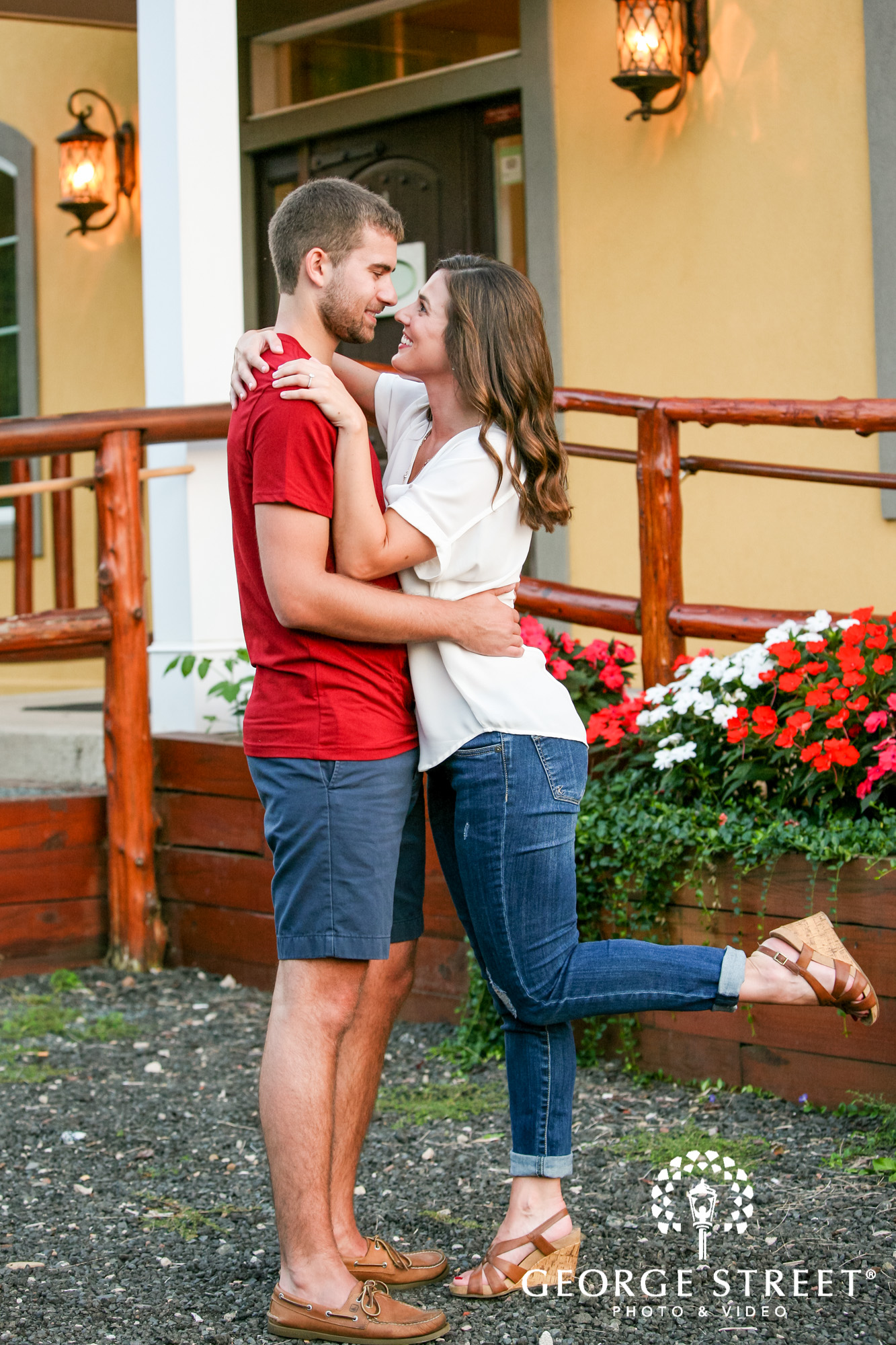 paradise hills vineyard  winery summer outdoor engagement session 18
