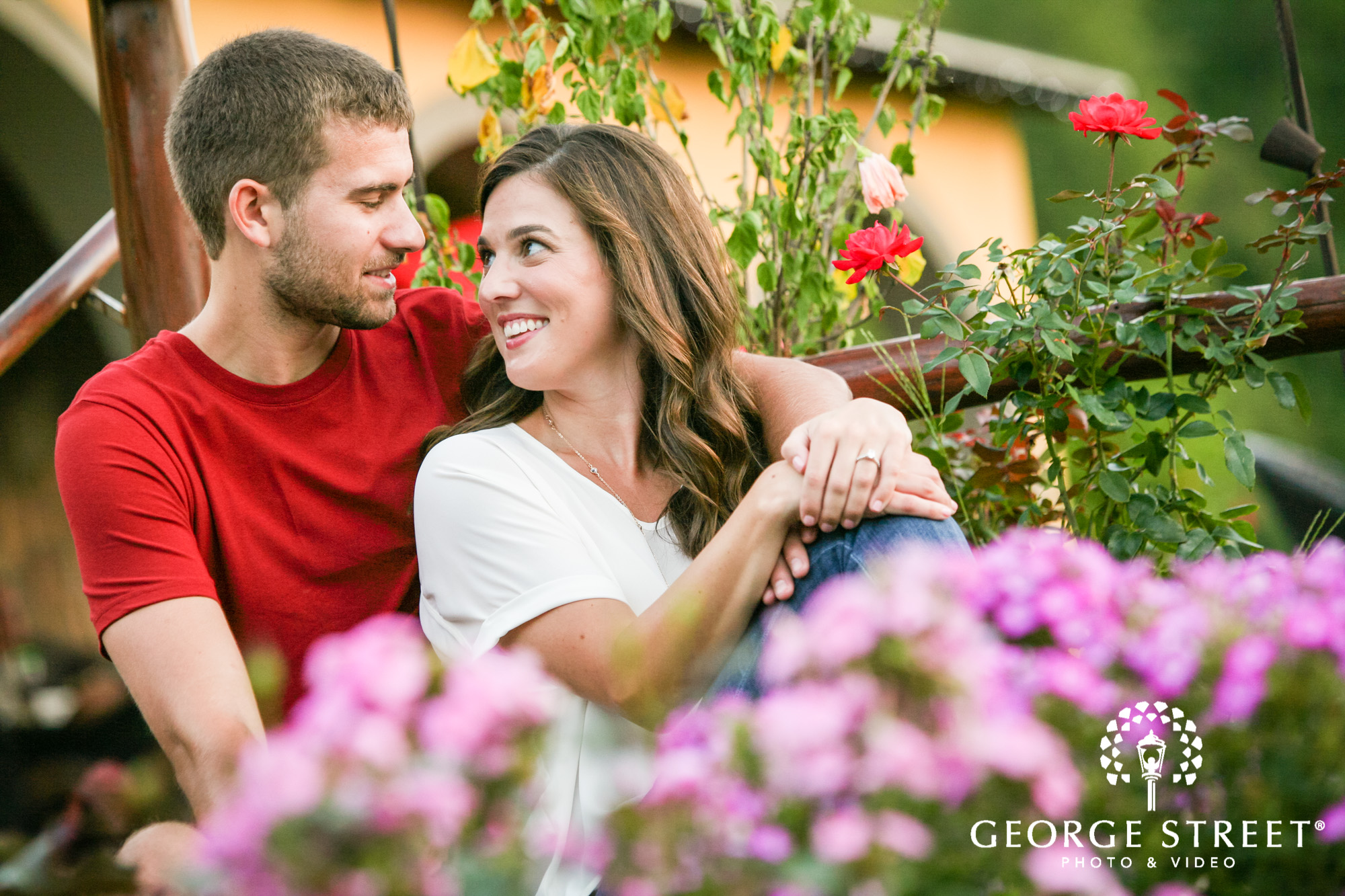 paradise hills vineyard  winery summer outdoor engagement session 19