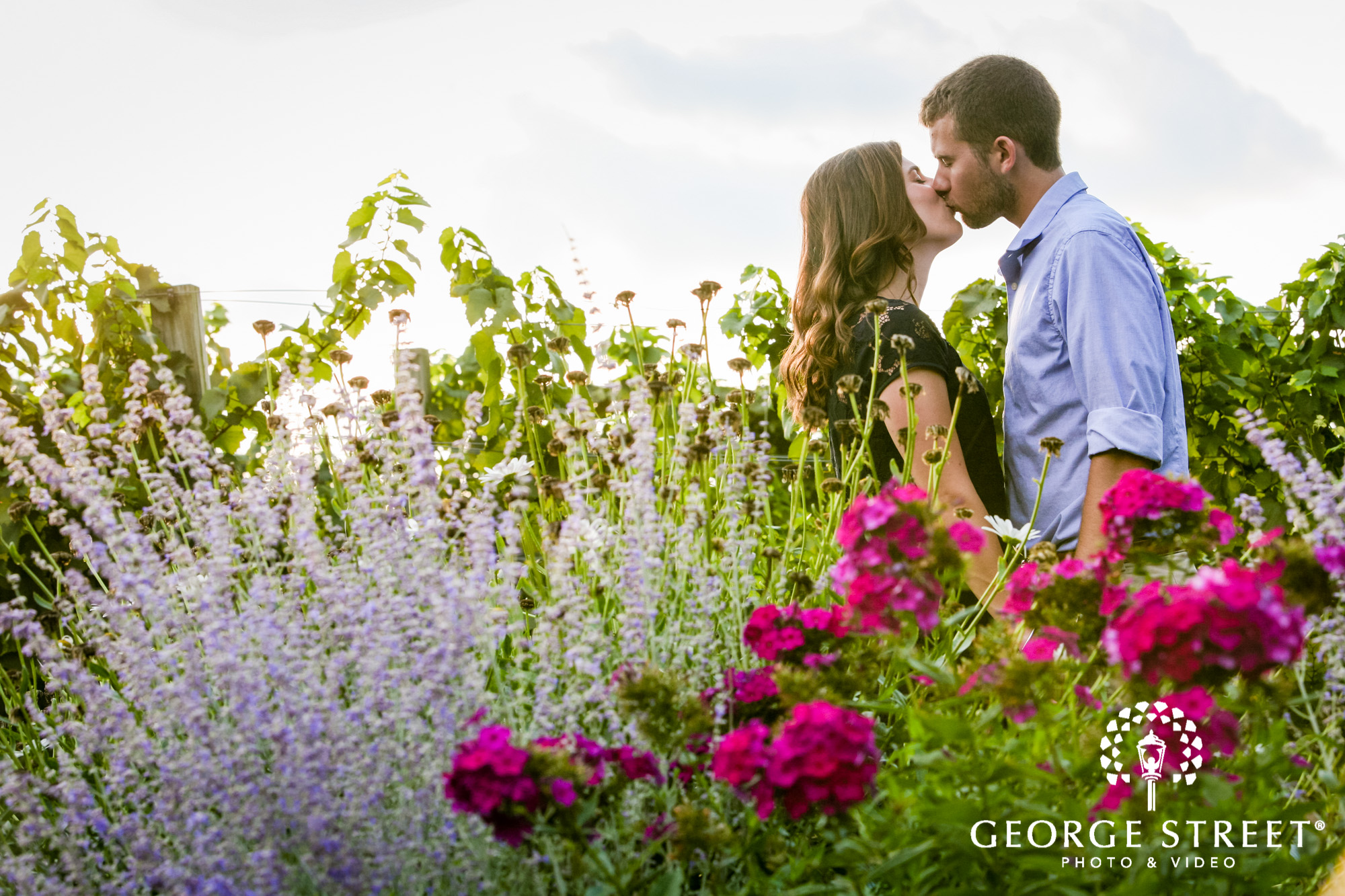 paradise hills vineyard  winery summer outdoor engagement session 2