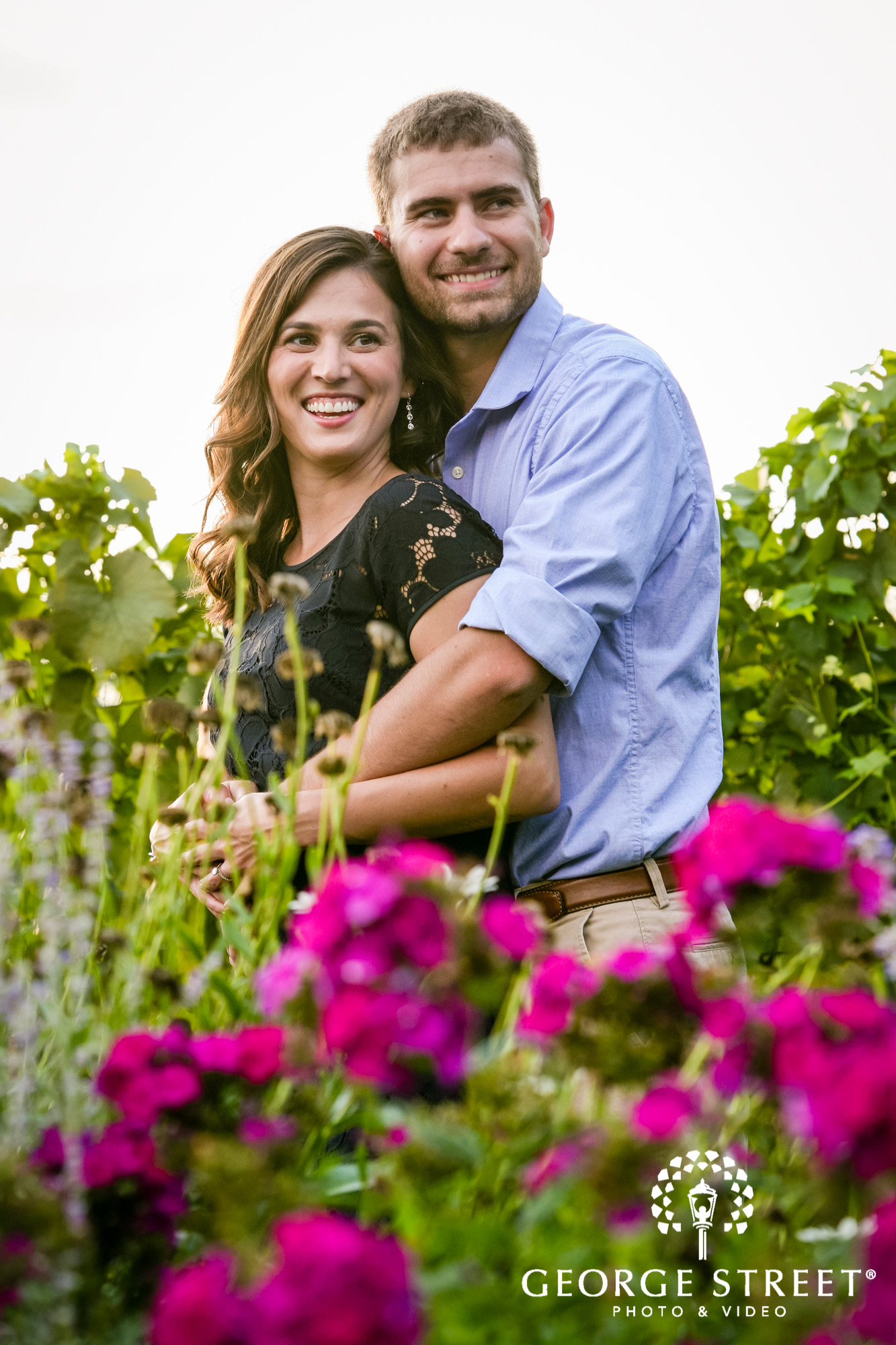 paradise hills vineyard  winery summer outdoor engagement session 3