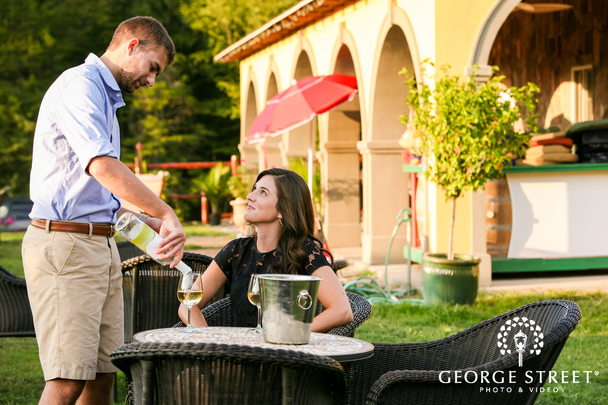 paradise hills vineyard  winery summer outdoor engagement session 5
