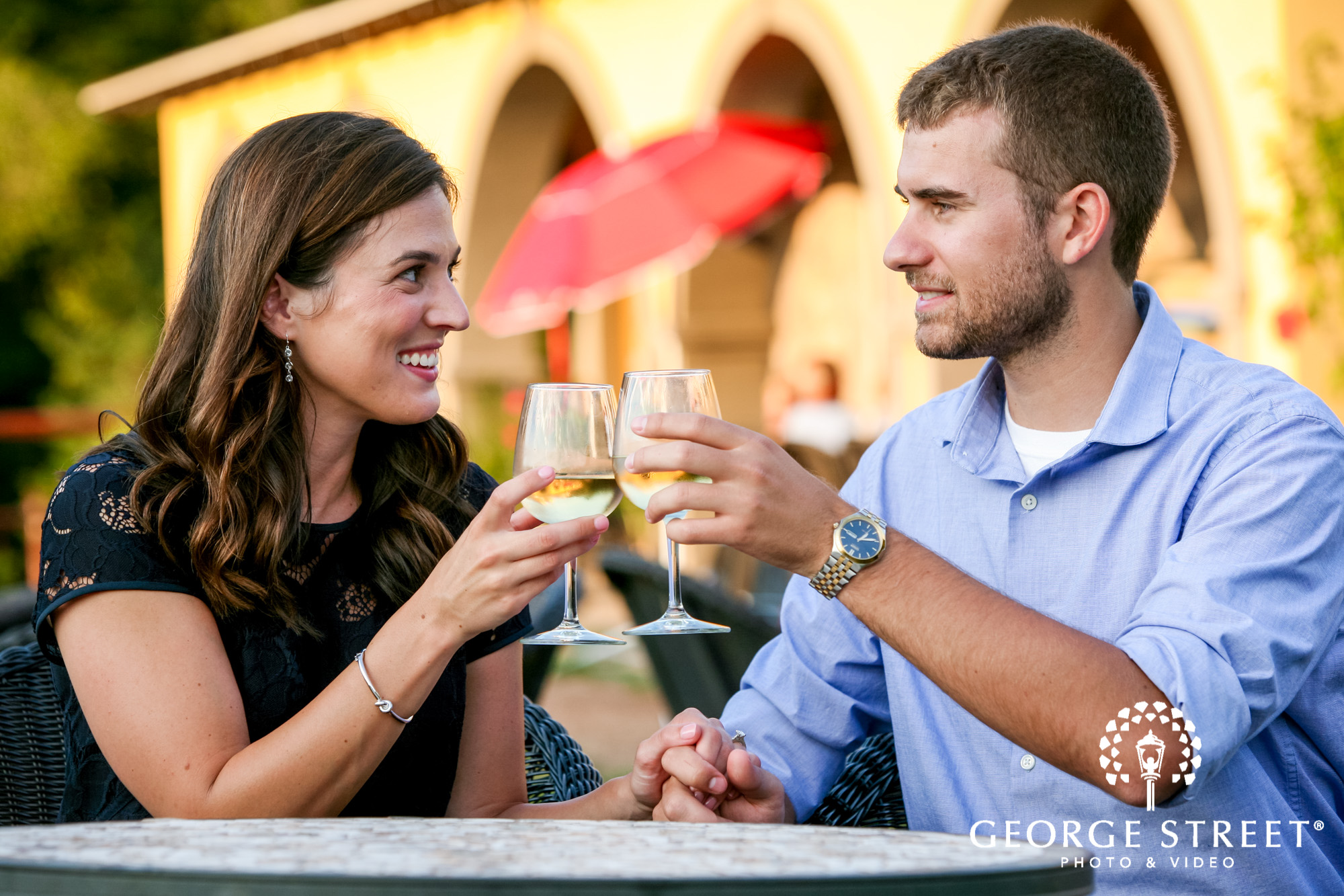 paradise hills vineyard  winery summer outdoor engagement session 7