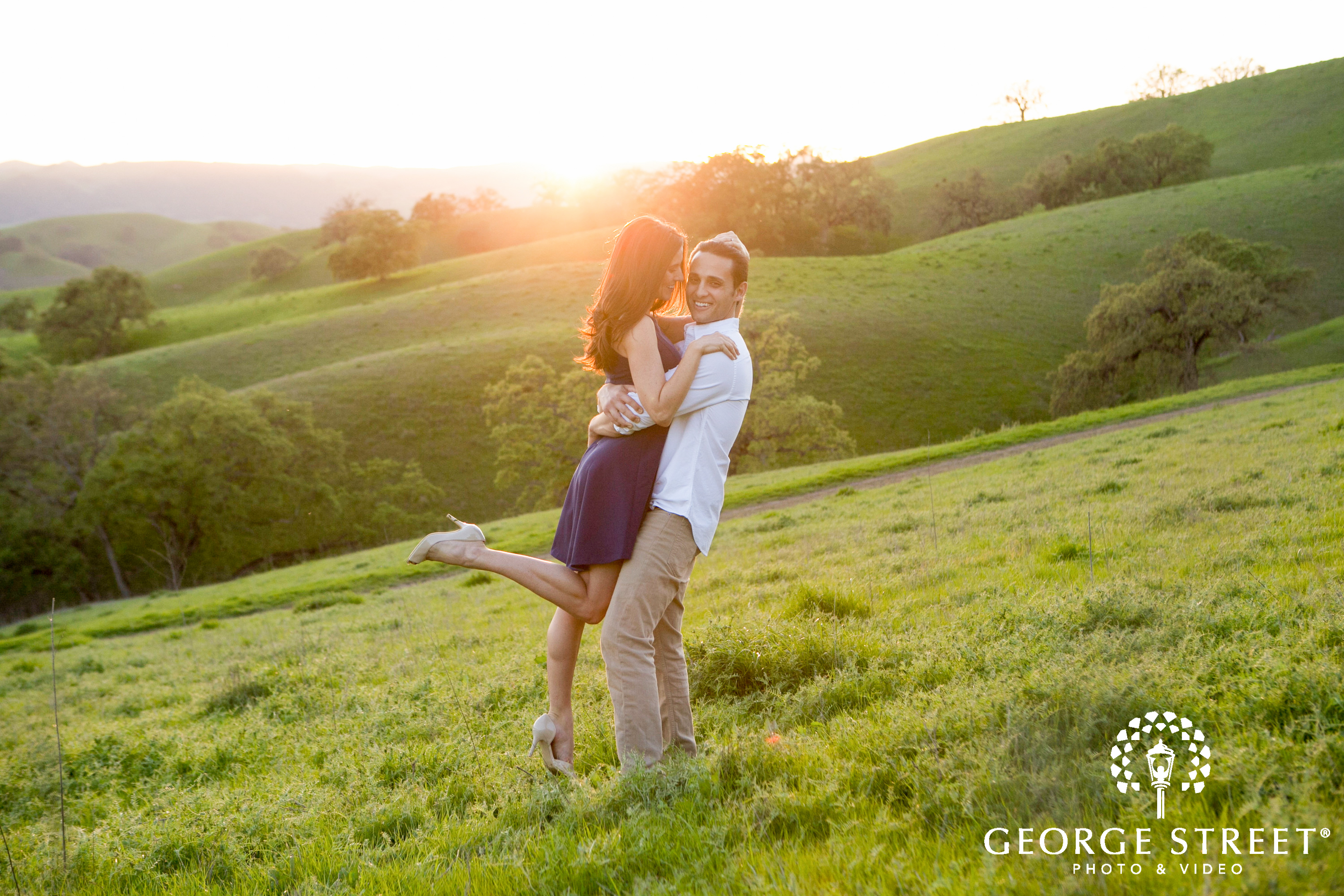 sunset portrait session locations